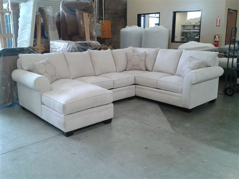 U Sofas by Custom Sectional Sofa Chenille Sectional U Shaped
