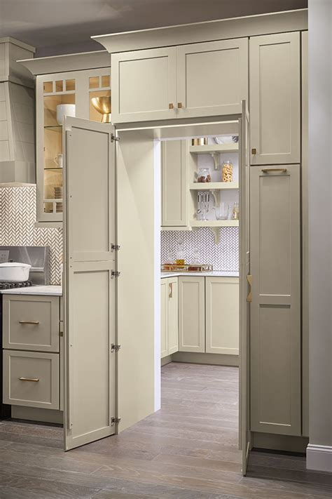 pantry walk  cabinet diamond cabinetry