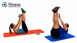Tabata Kettlebell Workout + Abs and Obliques Workout - 45 ...