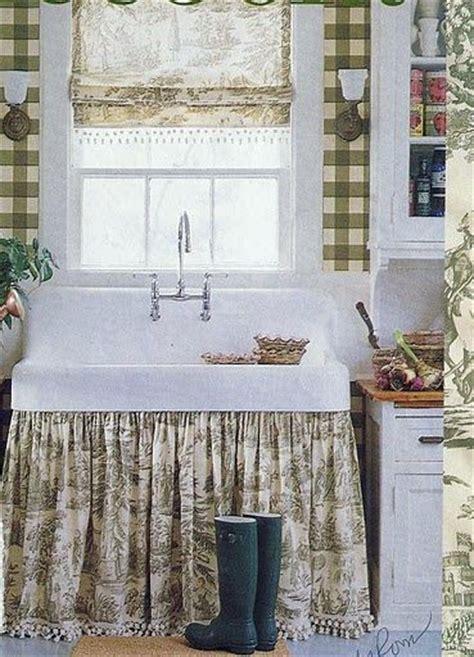 i love farmhouse sinks with skirts house ideas i