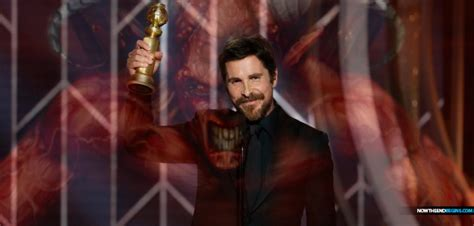 Actor Christian Bale Wins Golden Globes Best For