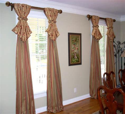 dining room window treatments 2017 grasscloth wallpaper