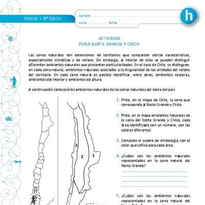 ambiente natural Curriculum Nacional MINEDUC Chile