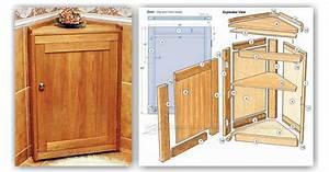 Corner Cabinet Plans • WoodArchivist