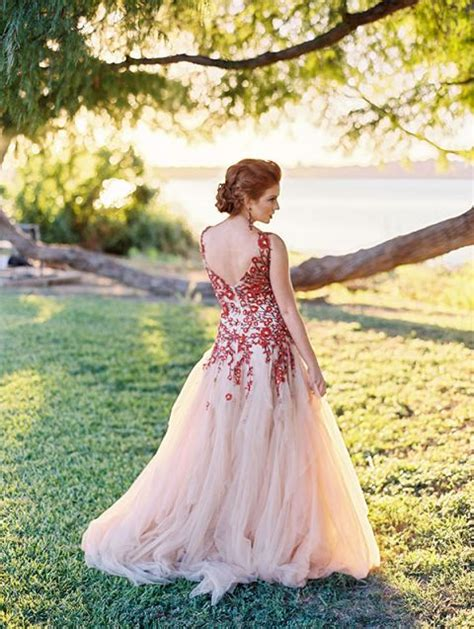 Bold Colors And A Floral Wedding Dress For Fall Hey