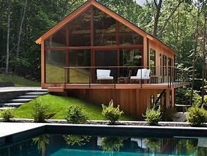 Maison D Architecte En Bois Et Verre  U2013 Ventana Blog