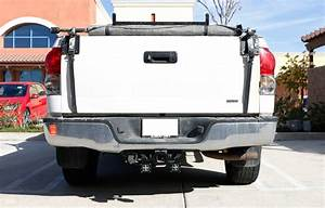 Tow Hitch Mounting Bracket For Dual Led Backup Reverse