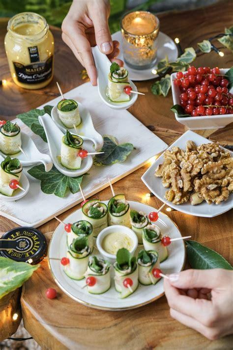 fingerfood für finger food gluten free zucchini rolls