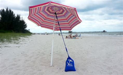Beach Umbrella Anchor From Noblo, The Grommet