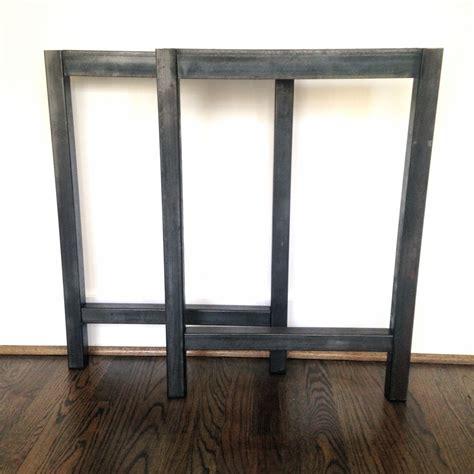 metal legs for a desk steel h frame desk legs steel table legs