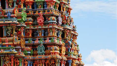 chambre indien temple de mînâkshî en inde des couleurs incroyables
