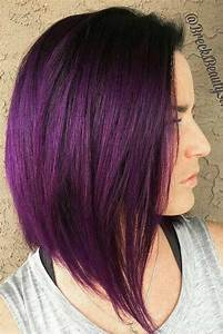 Hair Color 2017 2018 Dark Purple Hair And Everything