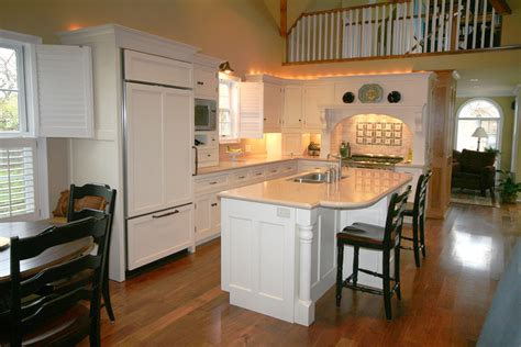 Do It Yourself Kitchen Backsplash Ideas - open concept kitchens kitchentoday