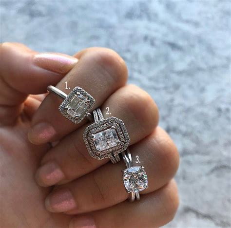 the best engagement rings this month designers diamonds