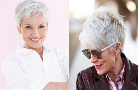 short pixie haircut  hairstyles  older women