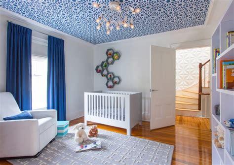chambres gar輟n décoration chambre bébé garçon en bleu 36 idées cool