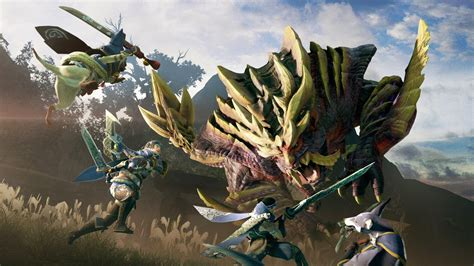 Monster Hunter Rise release date, trailer and character