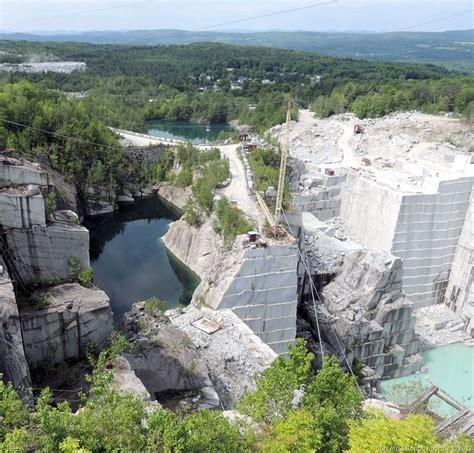 a blast at rock of ages granite quarry vermont
