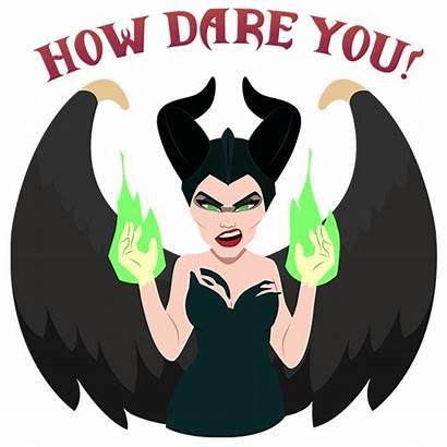 Maleficent Disney Evil Mistress Stickers Sticker Bare