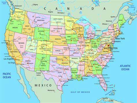 states maps   usa whatsanswer