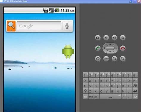 pantalla principal emulador android el androide libre