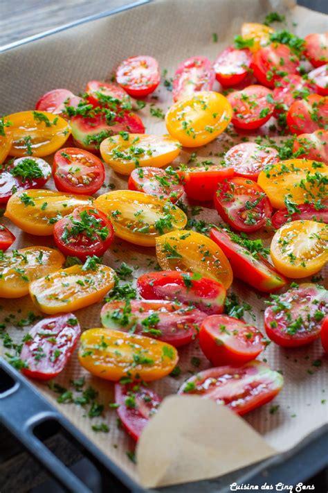 cuisine et sens tomates confites cuisine des cinq sens