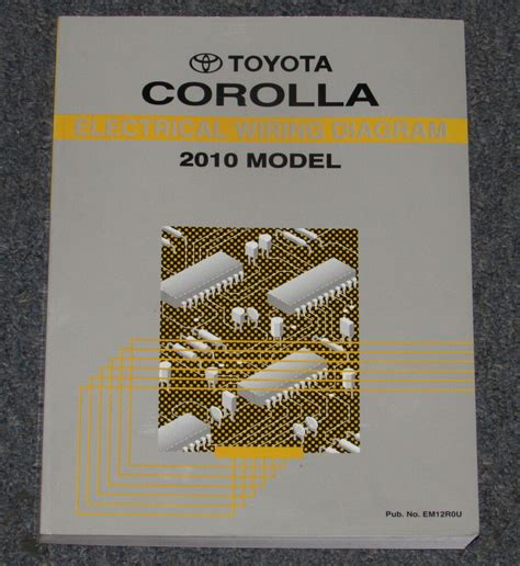 Toyota Corolla Electrical Wiring Diagram Service