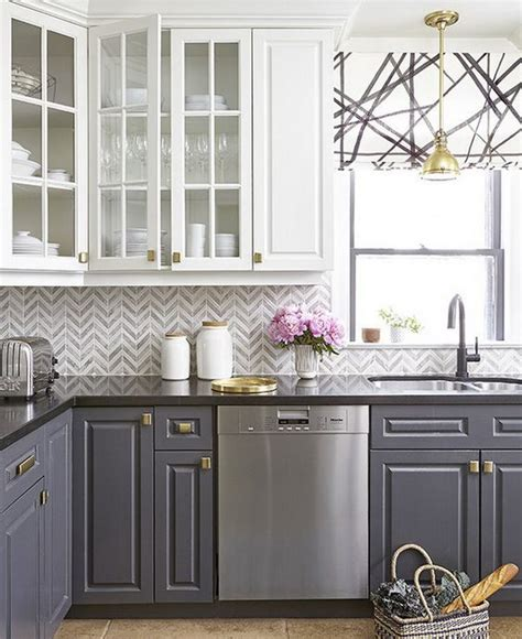 2 tone two tone kitchen cabinets stylish two tone kitchen cabinets for your inspiration