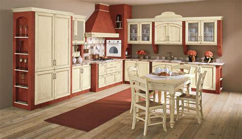 cucine color panna cucina in muratura con ante in legno consumato color panna