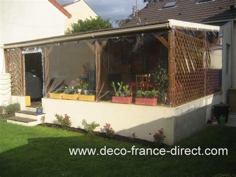bache translucide pour pergola bache transparente terrasse