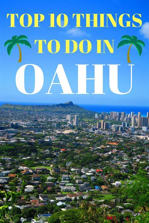 Top 10 Things To Do In Honolulu & Oahu  Hawaii Travel Guide