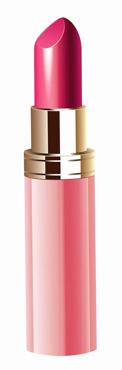 Lipstick Clipart Transparent Pink Background Clip Cliparts