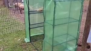 Putting Together A Small Greenhouse From Tractor Supply