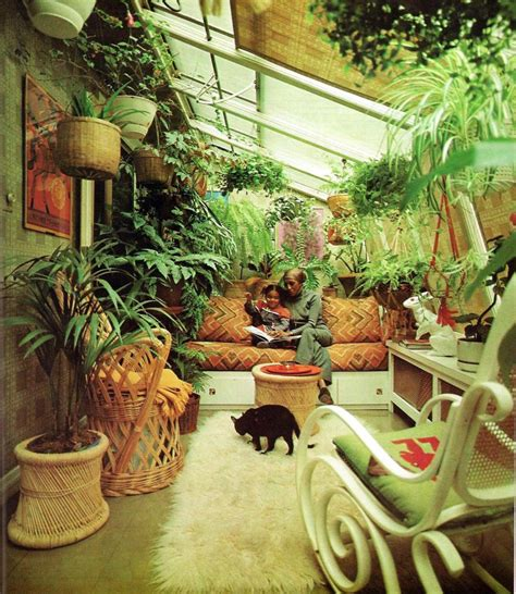 the garden room where plants cozy up to interior