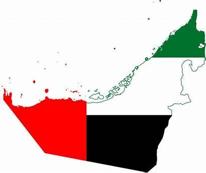 Arab Map Emirates Flag United Svg Commons