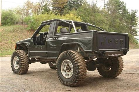 lifted jeep truck jeep comanche lifted jeep trucks pinterest nice