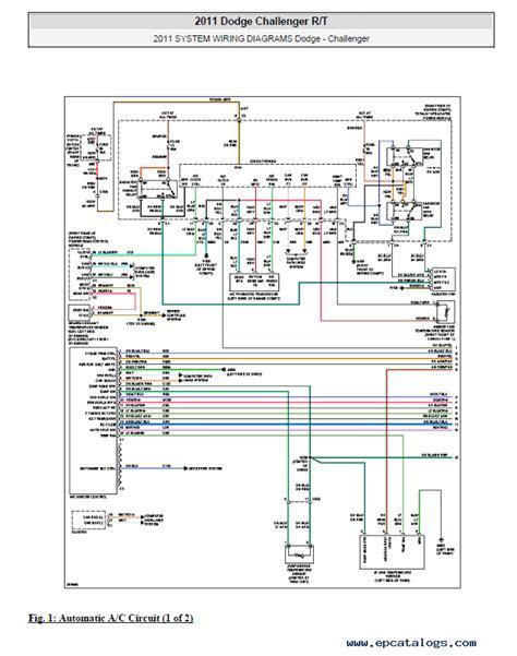 Wiring Diagram Dodge Challenger Srt8 dodge challenger 2008 2014 service manual pdf