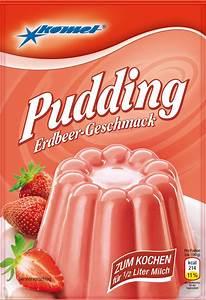 Pudding Erdbeer Geschmack Komet Online Shop