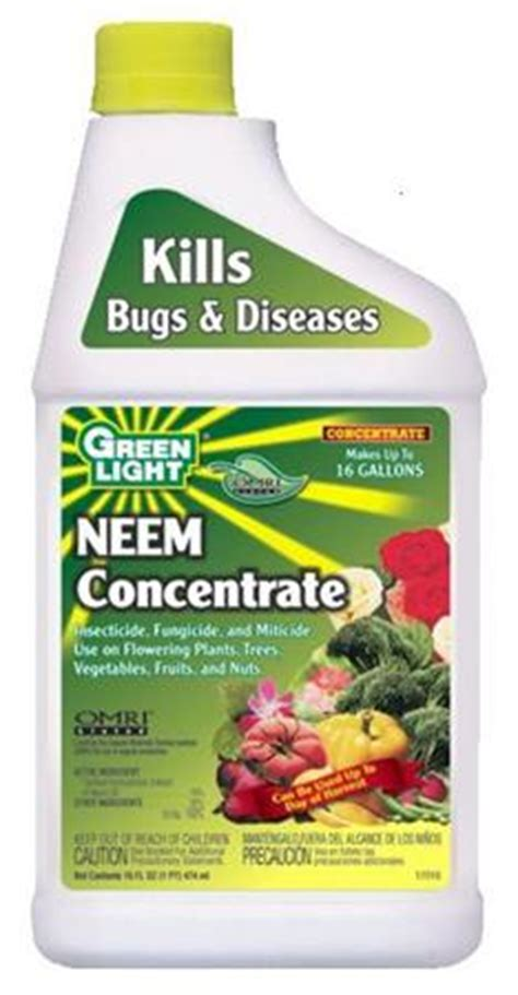 green light neem concentrate organic insecticide