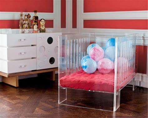 see through crib modern see through baby crib by nurseryworks kidsomania