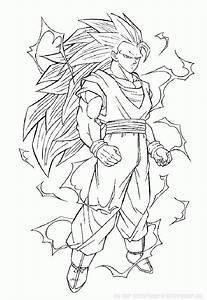 Coloriages De Dessins Animu00e9s Dragon Ball Z Page 2