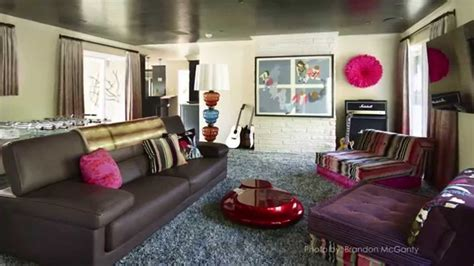 decorate  rock  roll themed room youtube