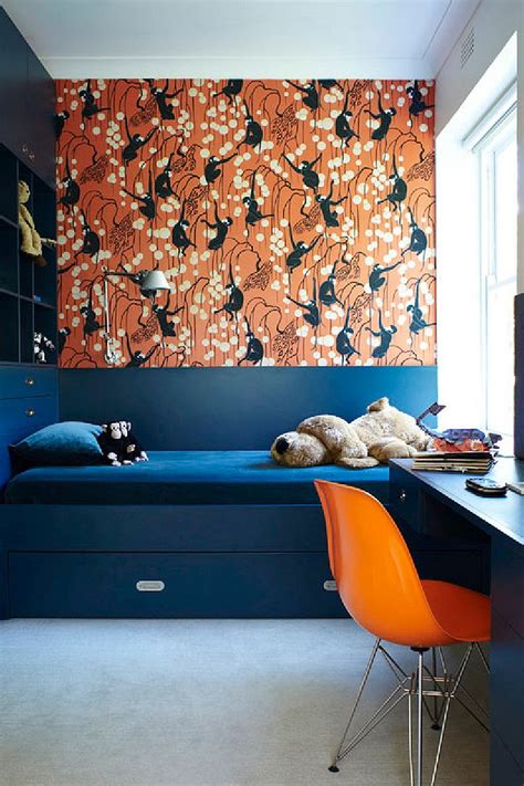 trendy ways  add color   contemporary kids bedroom