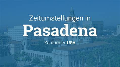 Wann ist die zeitumstellung auf sommerzeit 2021? Zeitumstellung 2021: Sommerzeit in Pasadena, Kalifornien, USA