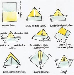 Wie Falte Ich Servietten : deutsch beschreiben einfacher vorg nge das papierboot ~ Eleganceandgraceweddings.com Haus und Dekorationen