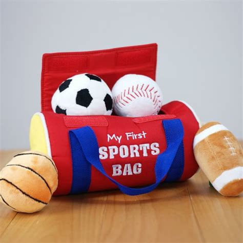 personalized my first sports bag children play set velcro