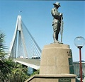 Anzac Bridge and Digger Statues   NSW War Memorials Register