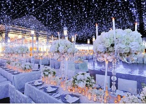 winter themed wedding table all things bridal winter