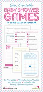 Pink Baby Shower W   Printable Baby Shower Games