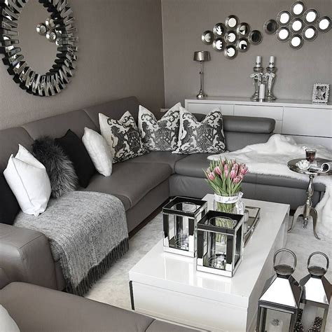 Gray Living Room by Pin By Leonard On Home Decorating Ideas Silver